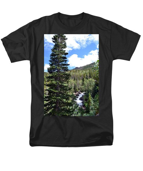 Rocky Mountain National Park2 Men's T-Shirt  (Regular Fit) by Zawhaus Photography