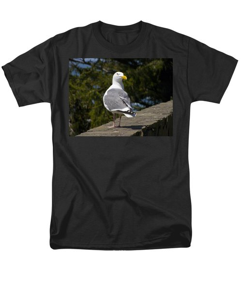 Men's T-Shirt  (Regular Fit) featuring the photograph Seagull by David Gleeson