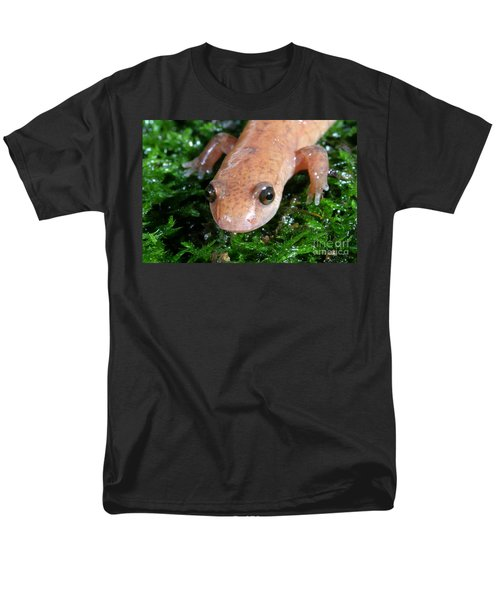 Spring Salamander Men's T-Shirt  (Regular Fit) by Ted Kinsman