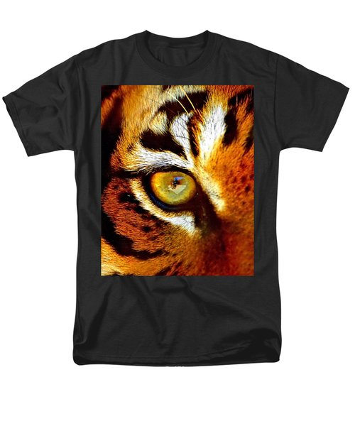 Tigers Eye Men's T-Shirt  (Regular Fit) by Marlo Horne