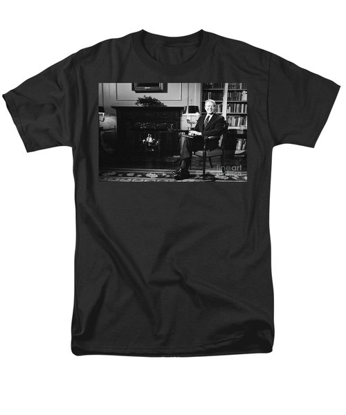 Jimmy Carter (1924- ) Men's T-Shirt  (Regular Fit) by Granger