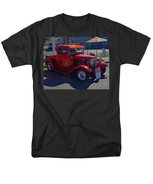 Men's T-Shirt  (Regular Fit) featuring the photograph 1932 Ford Pick Up by Tikvah's Hope