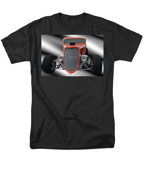 1933 Ford Roadster - Hotrod Version Of Scream Men's T-Shirt  (Regular Fit) by Betty Northcutt