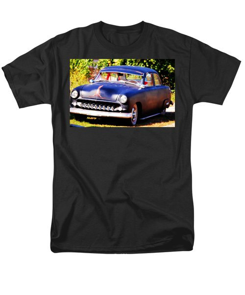 Men's T-Shirt  (Regular Fit) featuring the photograph 1950 Ford  Vintage by Peggy Franz