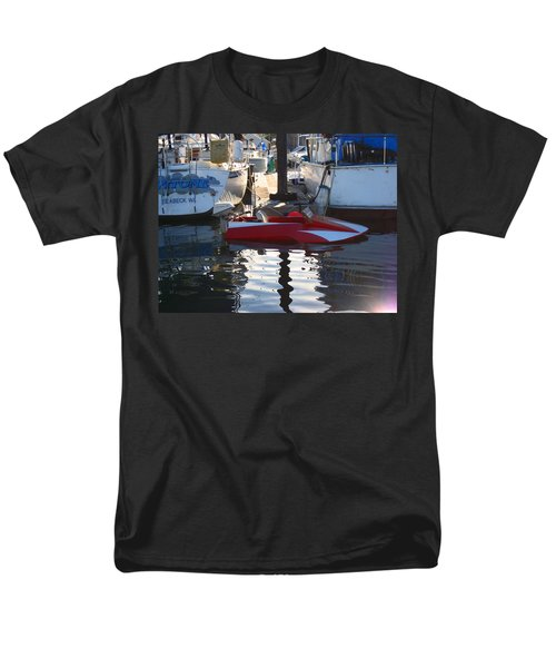 Men's T-Shirt  (Regular Fit) featuring the photograph 1950's Custom Hydroplane by Kym Backland