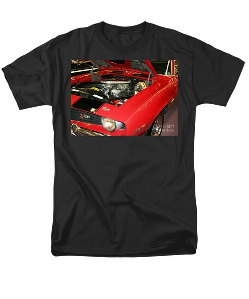 Men's T-Shirt  (Regular Fit) featuring the photograph 1969 Z-28 Crossram With 9737 Copo Option by John Black