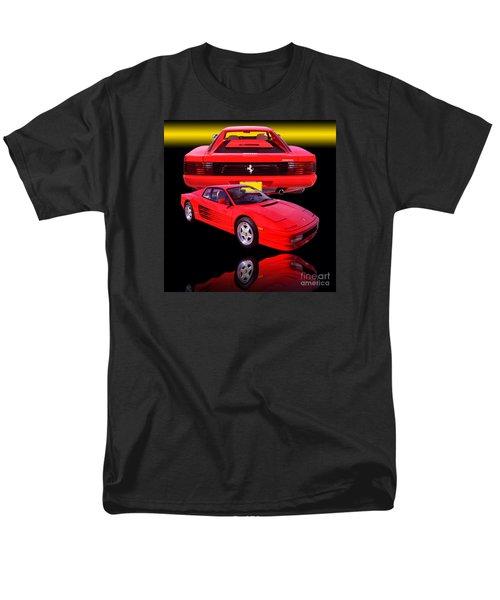1990 Ferrari Testarossa Men's T-Shirt  (Regular Fit) by Jim Carrell