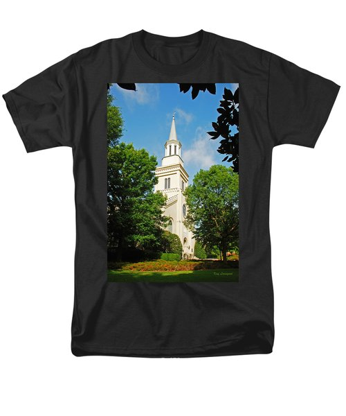 1st Presbyterian Church Men's T-Shirt  (Regular Fit) by Kay Lovingood