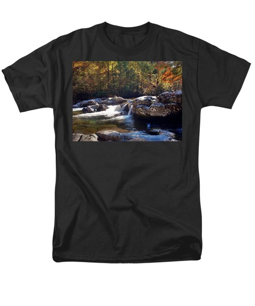 Great Smoky Mountains Men's T-Shirt  (Regular Fit) by Janice Spivey