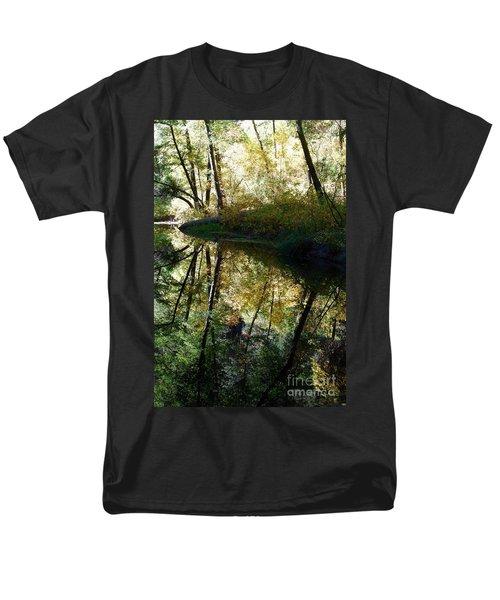 Men's T-Shirt  (Regular Fit) featuring the photograph Oak Creek Reflection by Tam Ryan