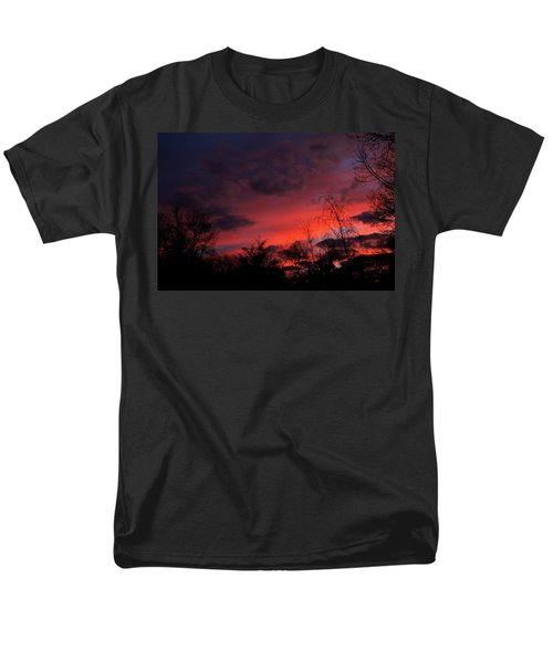 2012 Sunrise In My Back Yard Men's T-Shirt  (Regular Fit) by Paul SEQUENCE Ferguson             sequence dot net