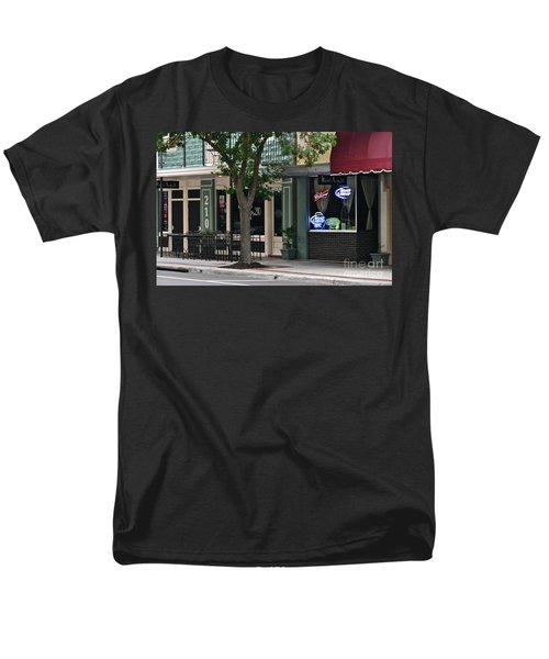 Men's T-Shirt  (Regular Fit) featuring the photograph 210 Pine Street by Carol  Bradley