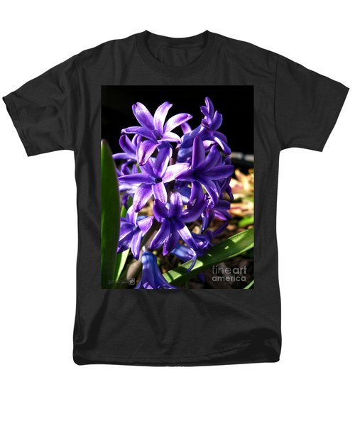 Men's T-Shirt  (Regular Fit) featuring the photograph Hyacinth Named Peter Stuyvesant by J McCombie