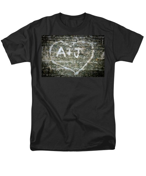 A And J Men's T-Shirt  (Regular Fit) by Julia Wilcox