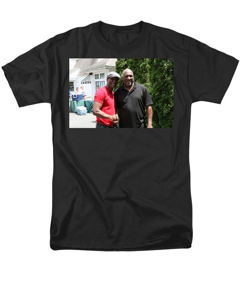 A Friend Bernard Hopkins Men's T-Shirt  (Regular Fit) by Paul SEQUENCE Ferguson             sequence dot net