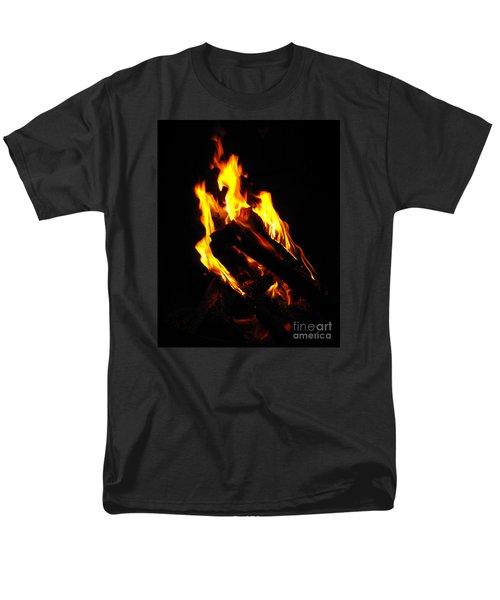 Abstract Phoenix Fire Men's T-Shirt  (Regular Fit)