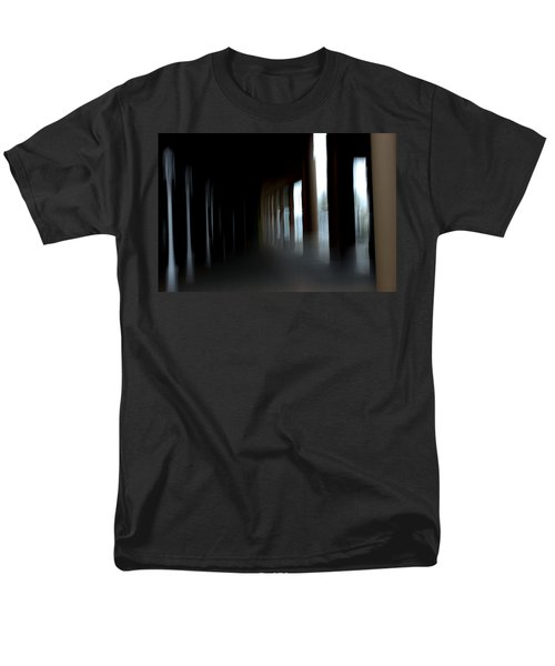 Men's T-Shirt  (Regular Fit) featuring the mixed media Abyss by Terence Morrissey