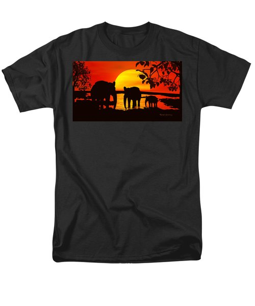 Africa Men's T-Shirt  (Regular Fit) by Robert Orinski