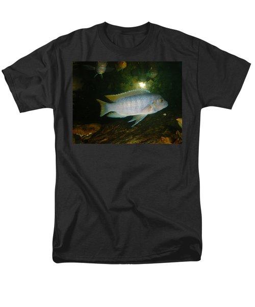 Men's T-Shirt  (Regular Fit) featuring the photograph Aquarium Life by Bonfire Photography
