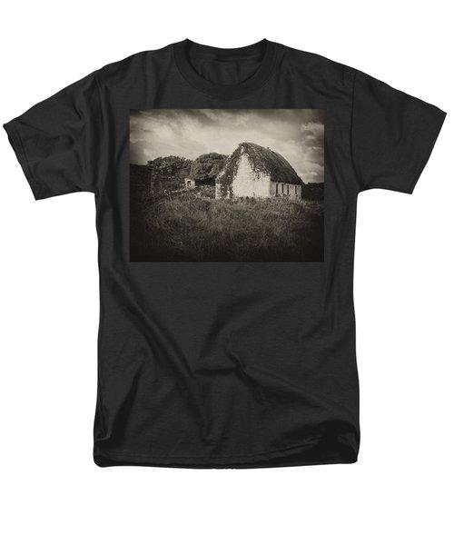 Men's T-Shirt  (Regular Fit) featuring the photograph Aran Island Home by Hugh Smith