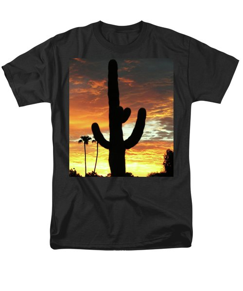 Arizona Sunrise 01 Men's T-Shirt  (Regular Fit) by Rand Swift