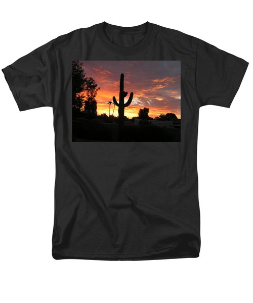 Arizona Sunrise 03 Men's T-Shirt  (Regular Fit) by Rand Swift