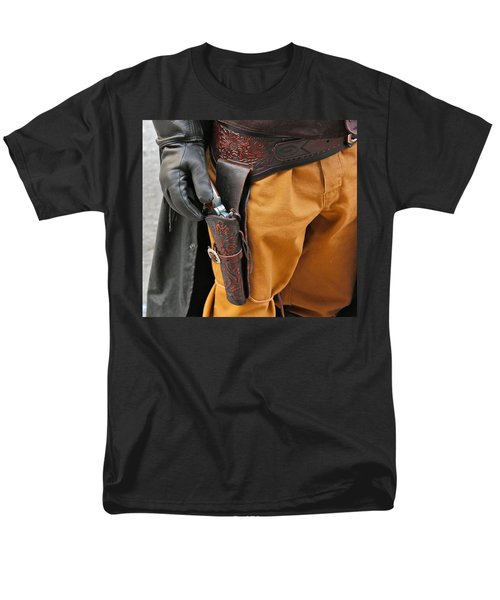 Men's T-Shirt  (Regular Fit) featuring the photograph At The Ready by Bill Owen