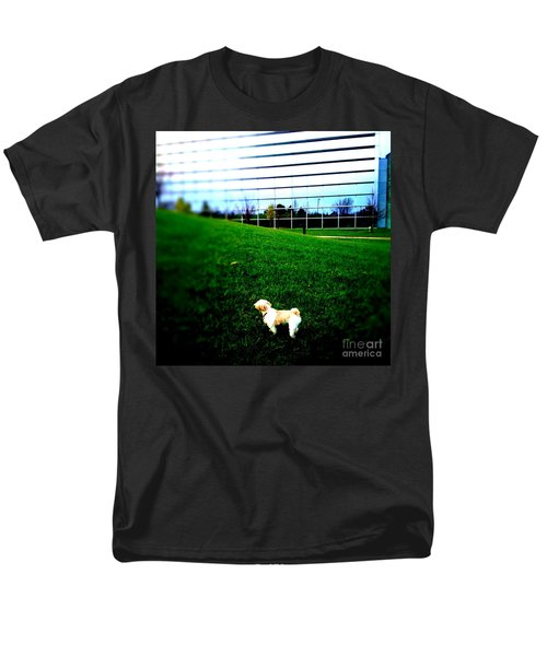 Men's T-Shirt  (Regular Fit) featuring the photograph Atsuko Goes To School by Xn Tyler
