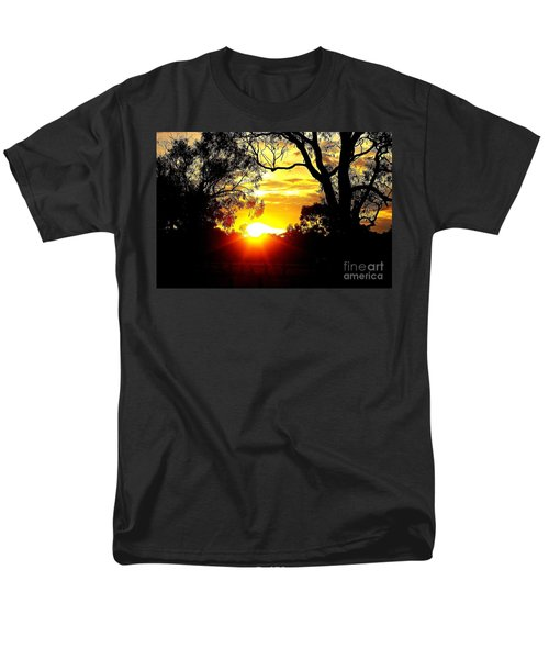Men's T-Shirt  (Regular Fit) featuring the photograph Aussie Sunset by Blair Stuart