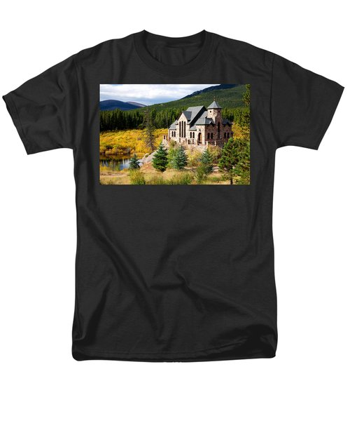 Men's T-Shirt  (Regular Fit) featuring the photograph Autumn At St. Malo  by Jim Garrison