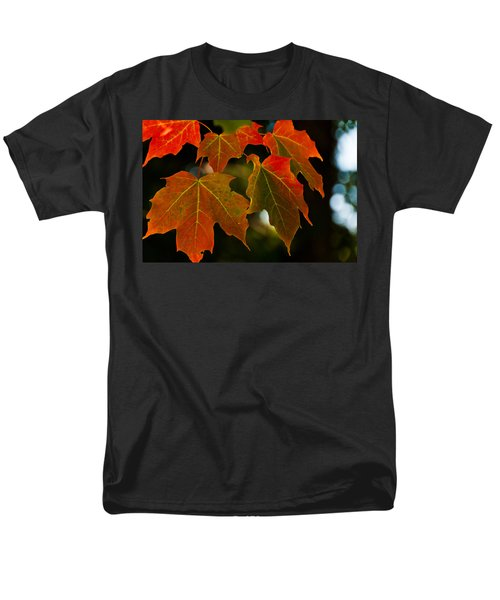 Men's T-Shirt  (Regular Fit) featuring the photograph Autumn Glory by Cheryl Baxter