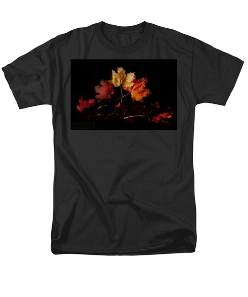 Men's T-Shirt  (Regular Fit) featuring the photograph Autumn Leaves by Beverly Cash