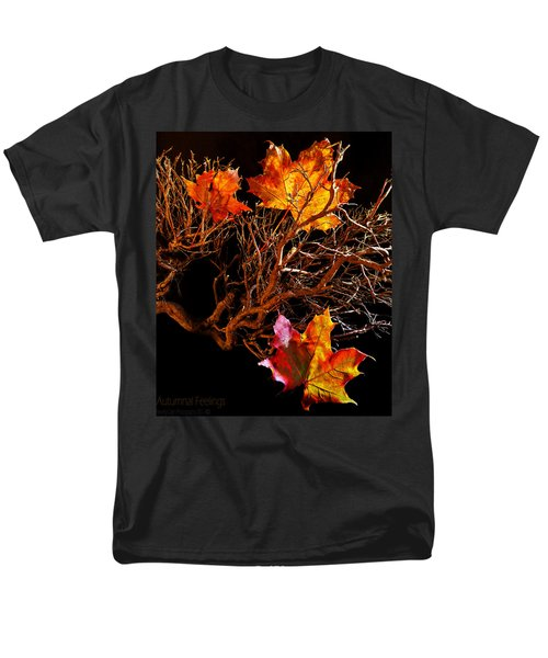 Men's T-Shirt  (Regular Fit) featuring the photograph Autumnal Feelings by Beverly Cash