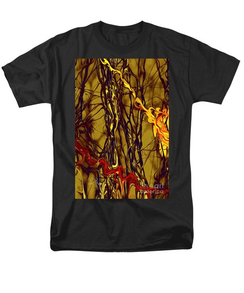 Shapes Of Fire Men's T-Shirt  (Regular Fit) by Leo Symon