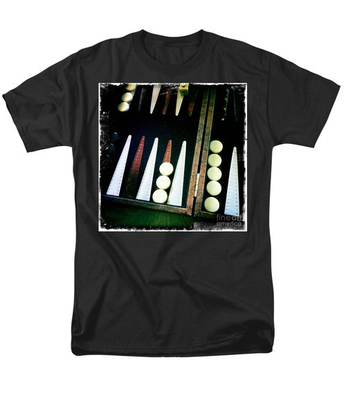 Men's T-Shirt  (Regular Fit) featuring the photograph Backgammon Anyone by Nina Prommer