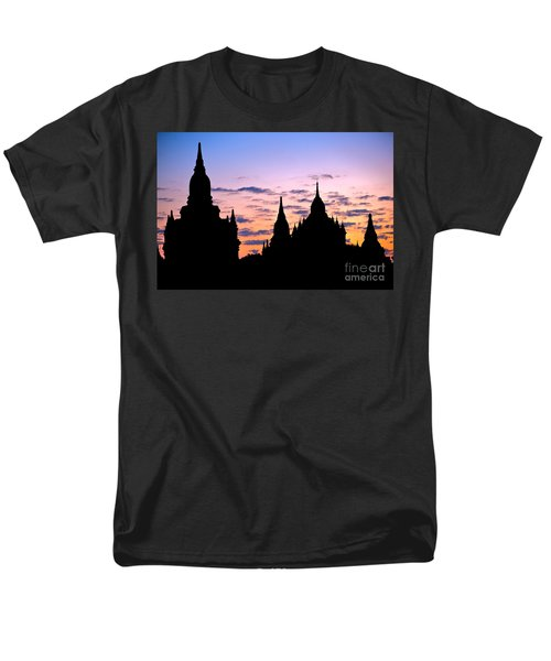 Men's T-Shirt  (Regular Fit) featuring the photograph Bagan by Luciano Mortula