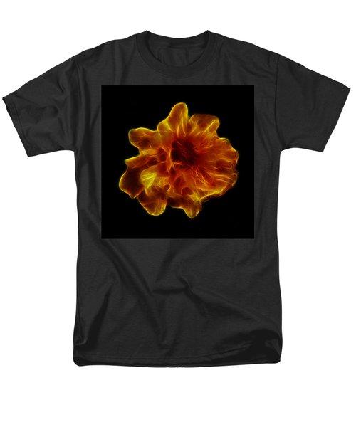 Men's T-Shirt  (Regular Fit) featuring the photograph Ball Of Fire by Lynn Bolt