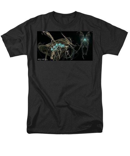 Ballerina Butterfly Men's T-Shirt  (Regular Fit) by Kelly Turner