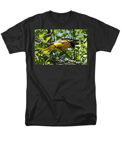 Baltimore Oriole Men's T-Shirt  (Regular Fit) by Joe Faherty