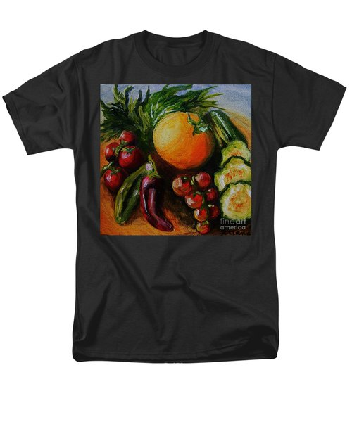 Beauty Of Good Eats Men's T-Shirt  (Regular Fit) by Karen  Ferrand Carroll