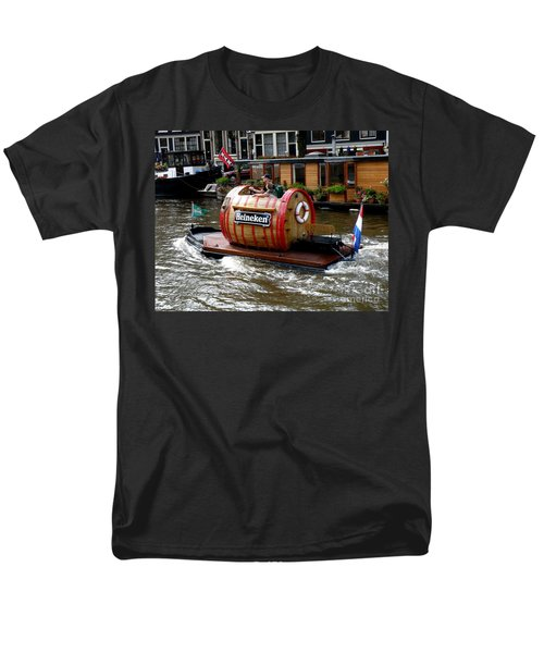 Beer Boat Men's T-Shirt  (Regular Fit) by Lainie Wrightson