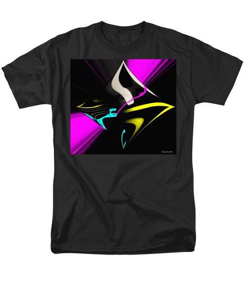 Men's T-Shirt  (Regular Fit) featuring the photograph Black Diamond by George Pedro