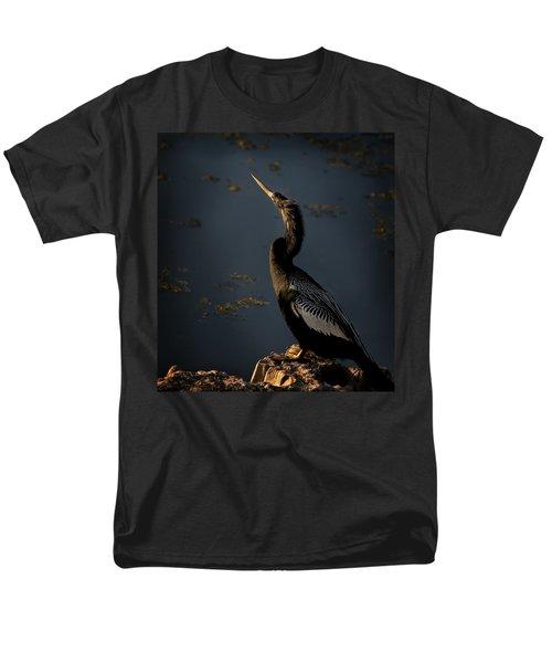 Men's T-Shirt  (Regular Fit) featuring the photograph Black Light by Steven Sparks