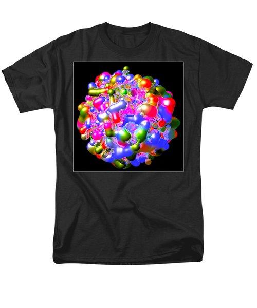 Men's T-Shirt  (Regular Fit) featuring the digital art Blob Of Color... by Tim Fillingim
