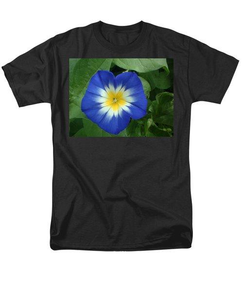 Men's T-Shirt  (Regular Fit) featuring the photograph Blue Burst by Bonfire Photography