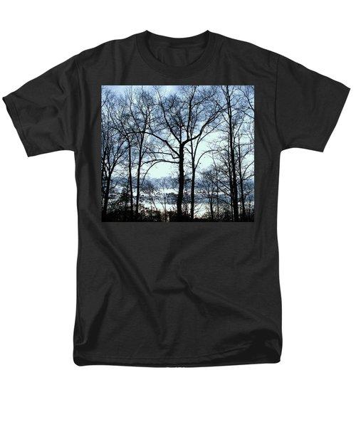 Men's T-Shirt  (Regular Fit) featuring the photograph Blue Mirage by Pamela Hyde Wilson
