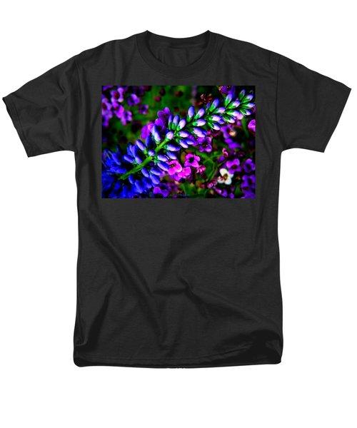 Blue Veronica Men's T-Shirt  (Regular Fit)