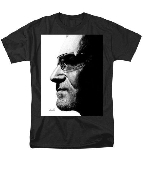 Bono - Half The Man Men's T-Shirt  (Regular Fit) by Kayleigh Semeniuk