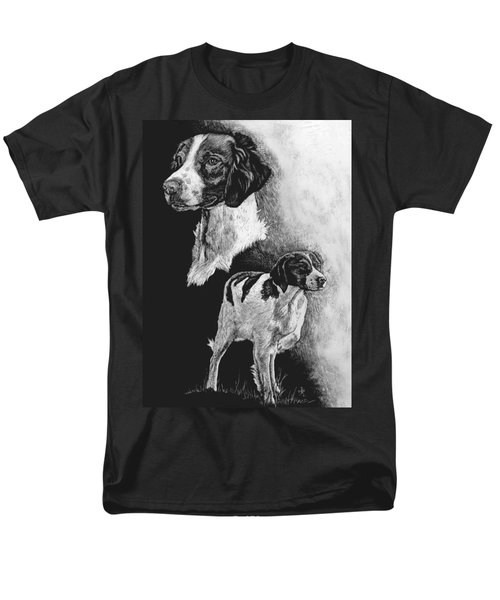 Men's T-Shirt  (Regular Fit) featuring the drawing Brittany by Rachel Hames
