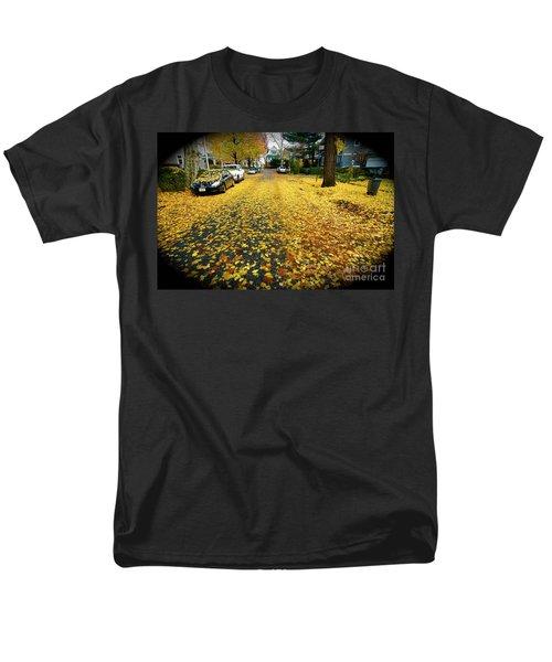 Brooklyn New York Men's T-Shirt  (Regular Fit) by Mark Gilman